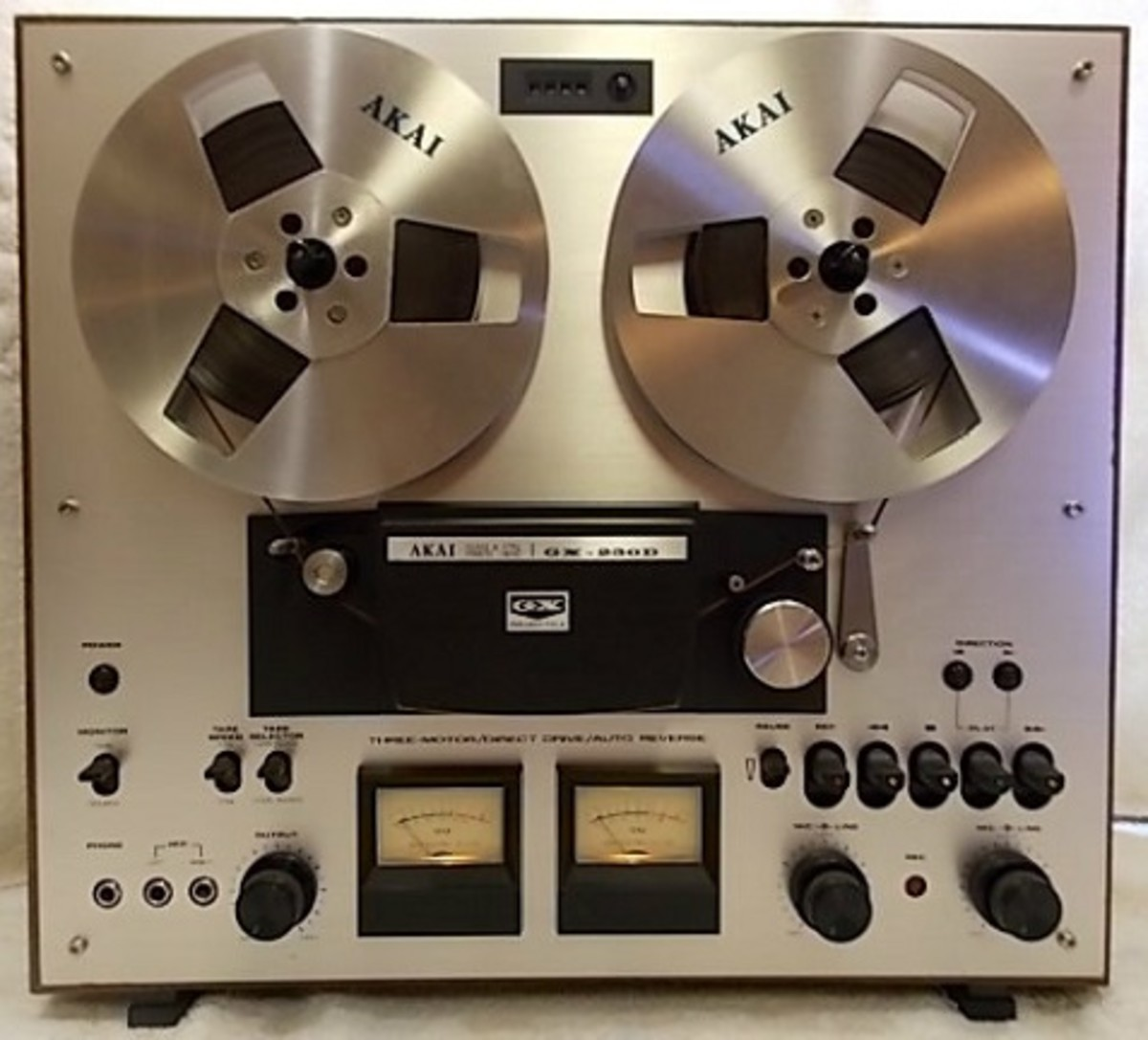 Reel to reel recorders and players are great for use in helping to preserve your record collection.
