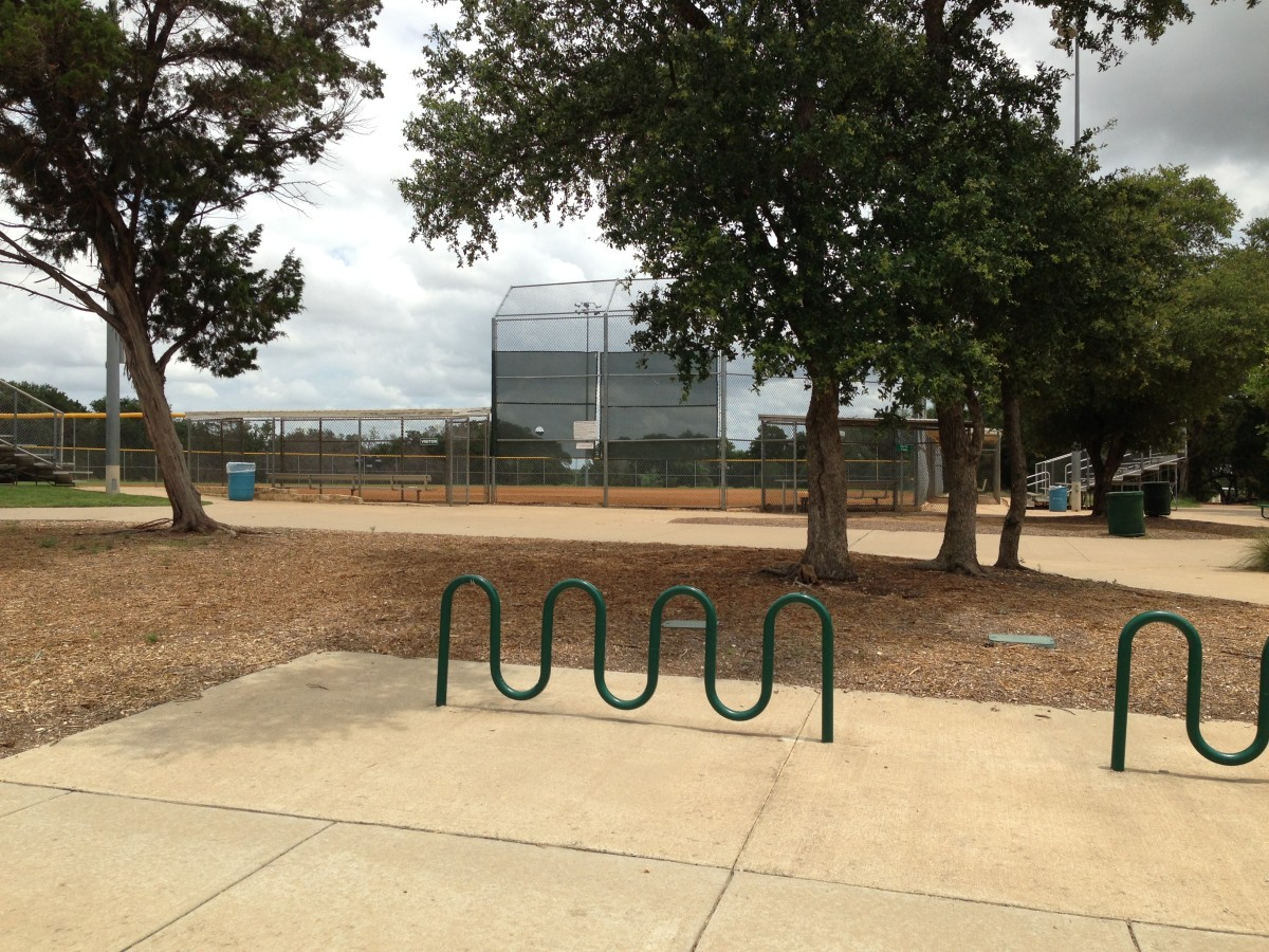 Baseball and Softball Fields at Williamson County Regional Park  Leander and Cedar Park TX