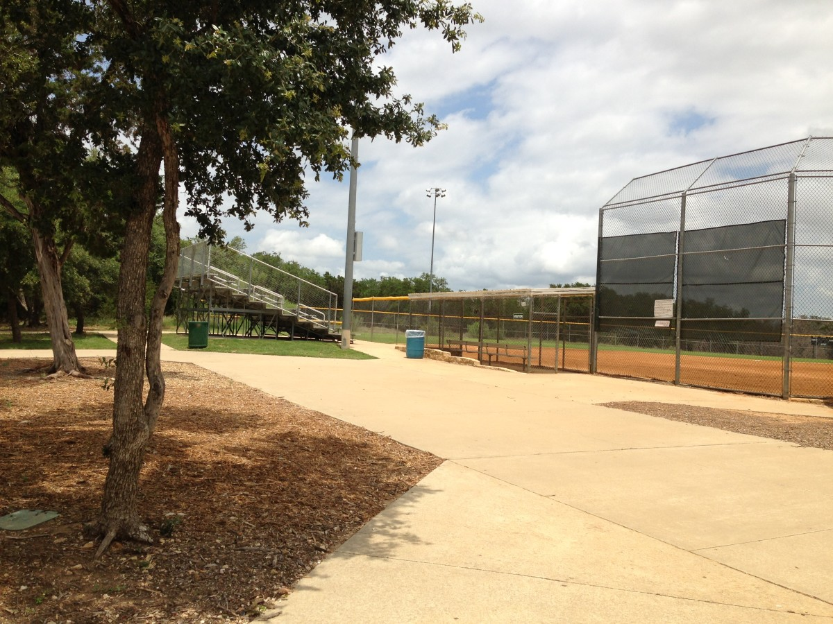 Baseball and Softball Fields Williamson County Regional Park  Leander and Cedar Park TX