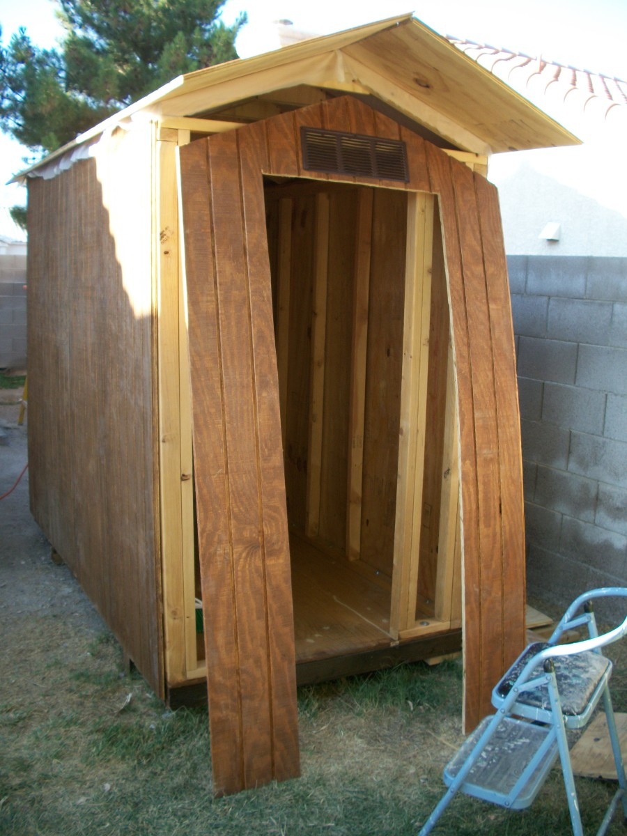 Building A Shed Style Doghouse With Air Conditioning Hubpages