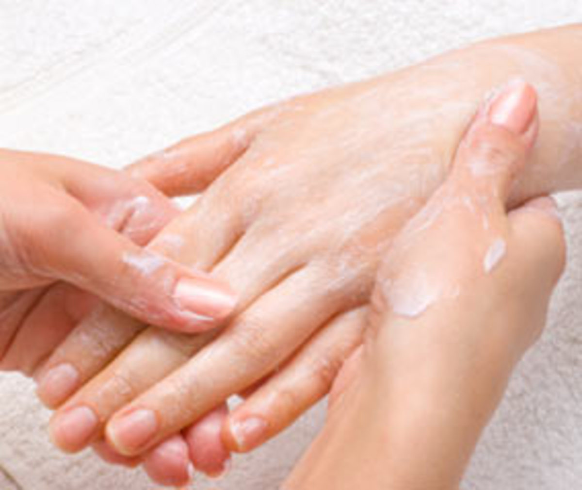 Manicure and pedicure massage sequence on easy to follow steps.