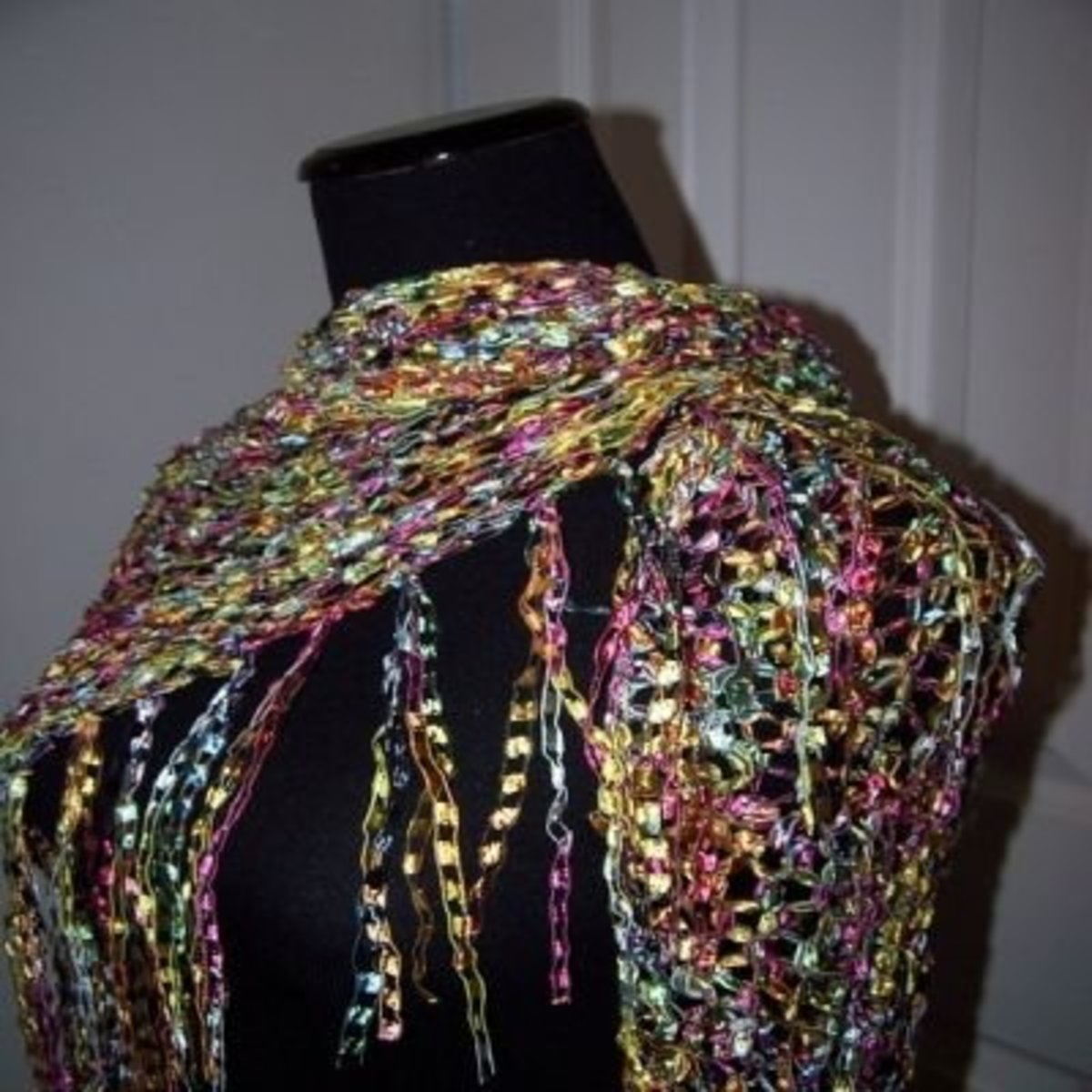Knitting with Ladder Yarn | HubPages