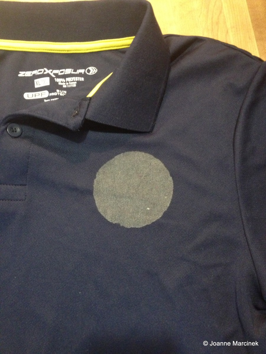 Sticker Residue on Shirt