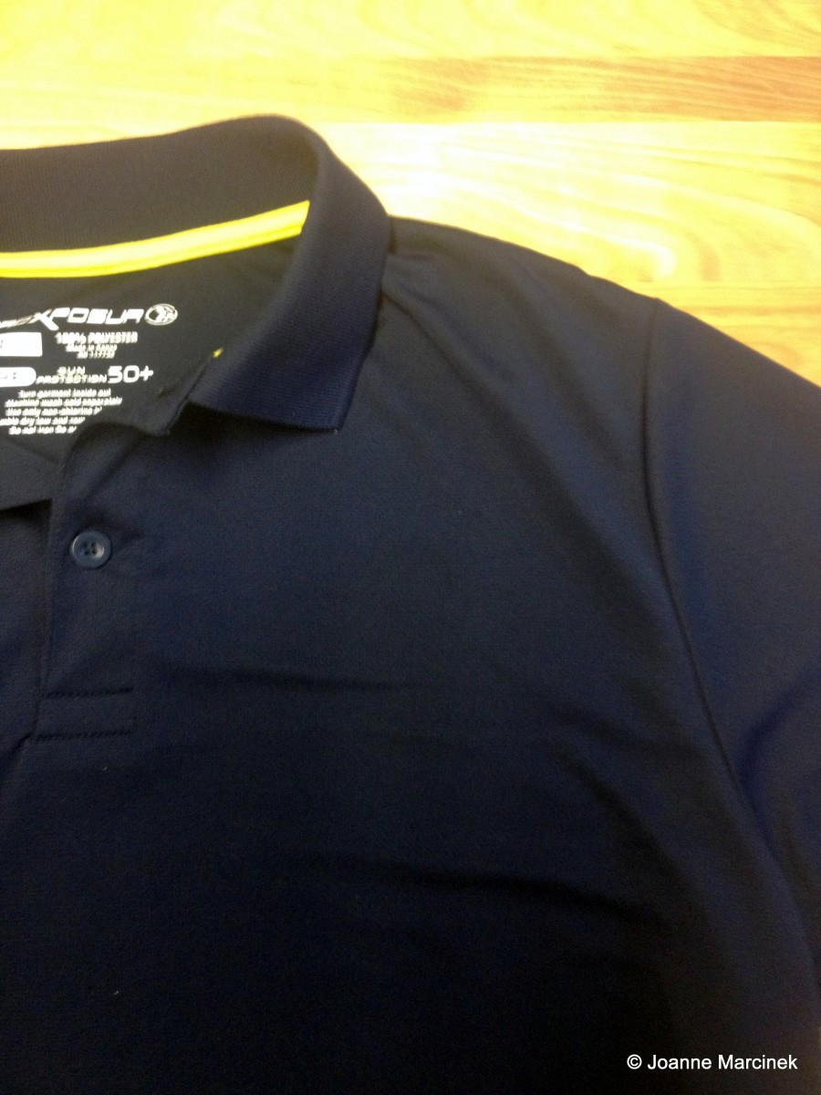 Clean Shirt, No Sticker Residue