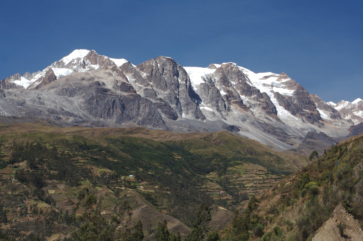 The Andes Mountains of Bolivia.