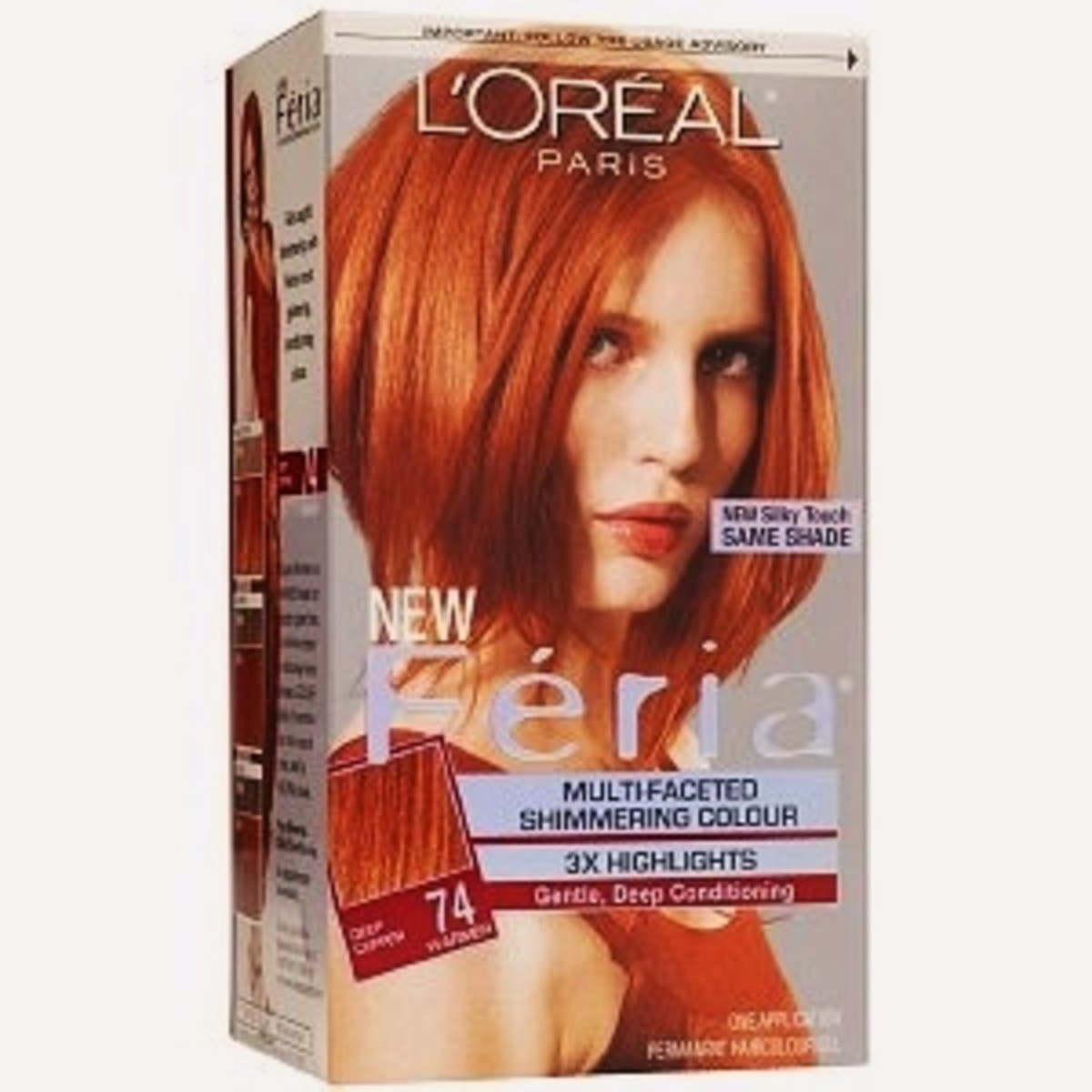 L'oreal Feria 74 Deep Copper