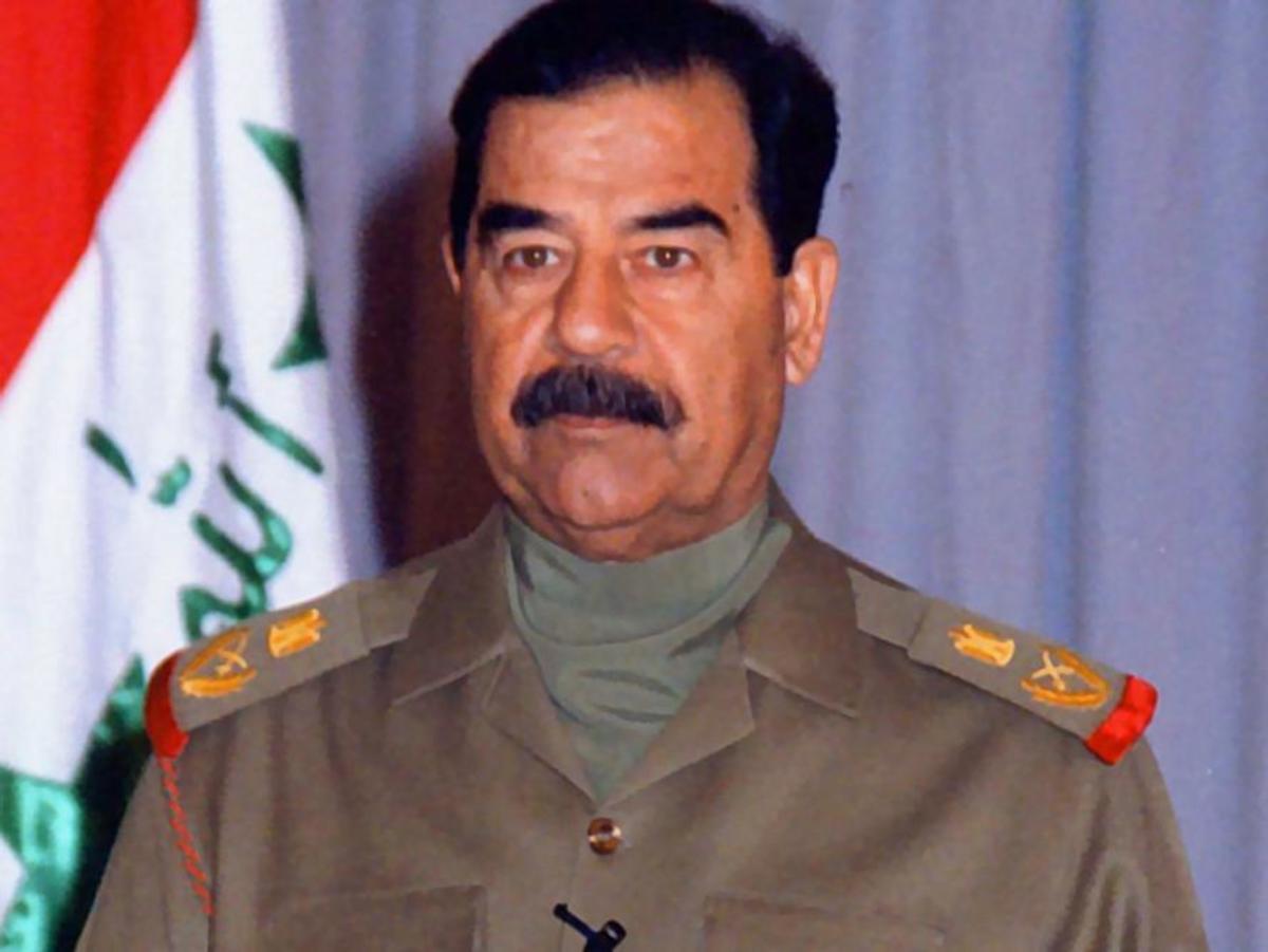 Saddam Hussein - classic dictator look