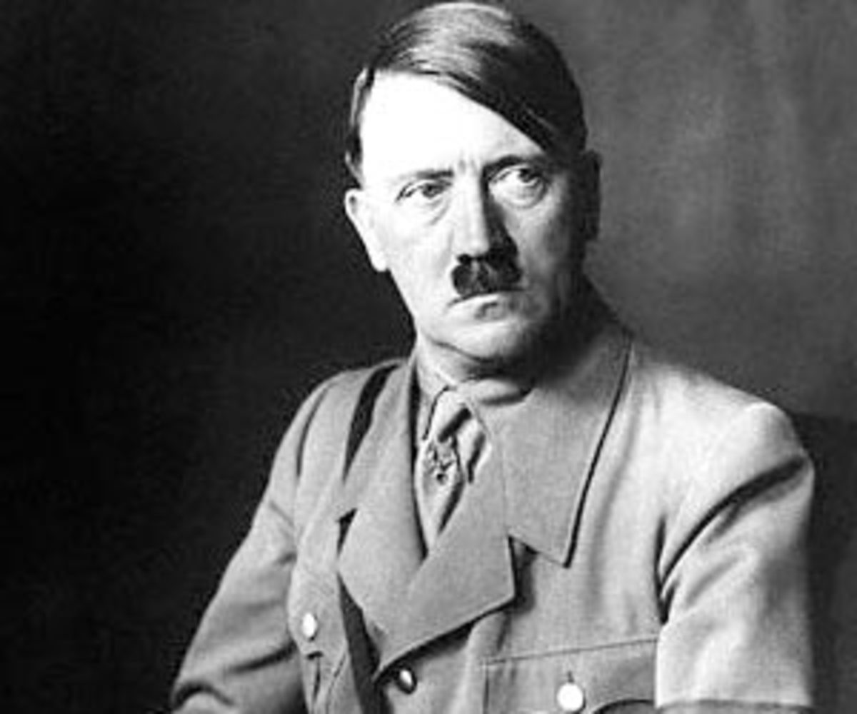 The mature Adolf Hitler, stylistically in full bloom