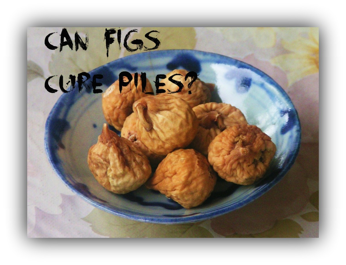 Natural Cure For Piles Using Dried Figs