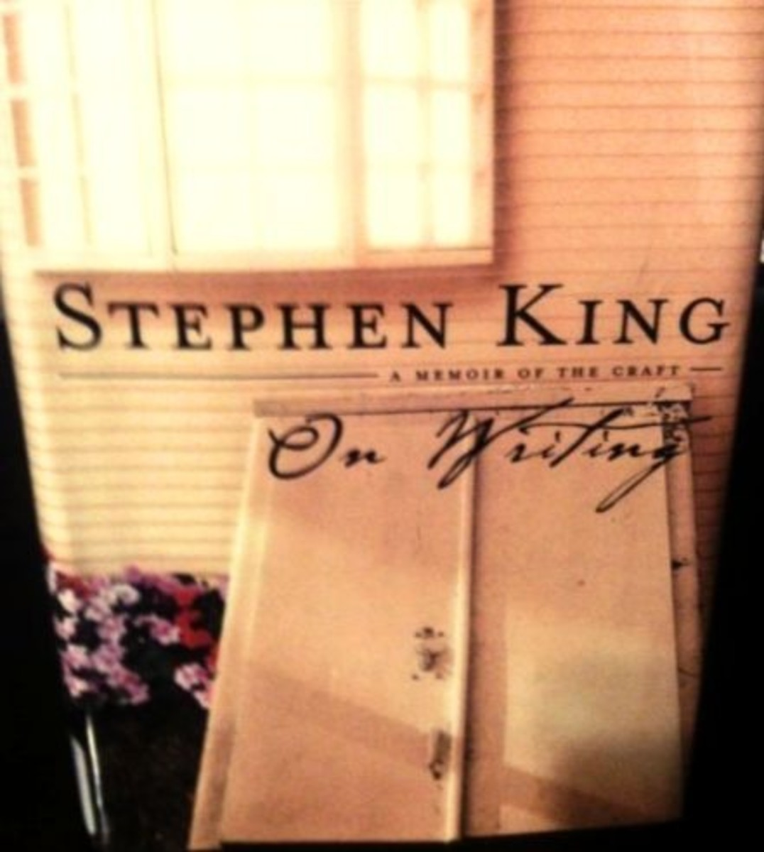 "stephen kings on writing Book review: stephen king's ""on writing: a memoir of the craft"" 2 in a college writing class, king met his wife, tabitha his sustaining marriage."
