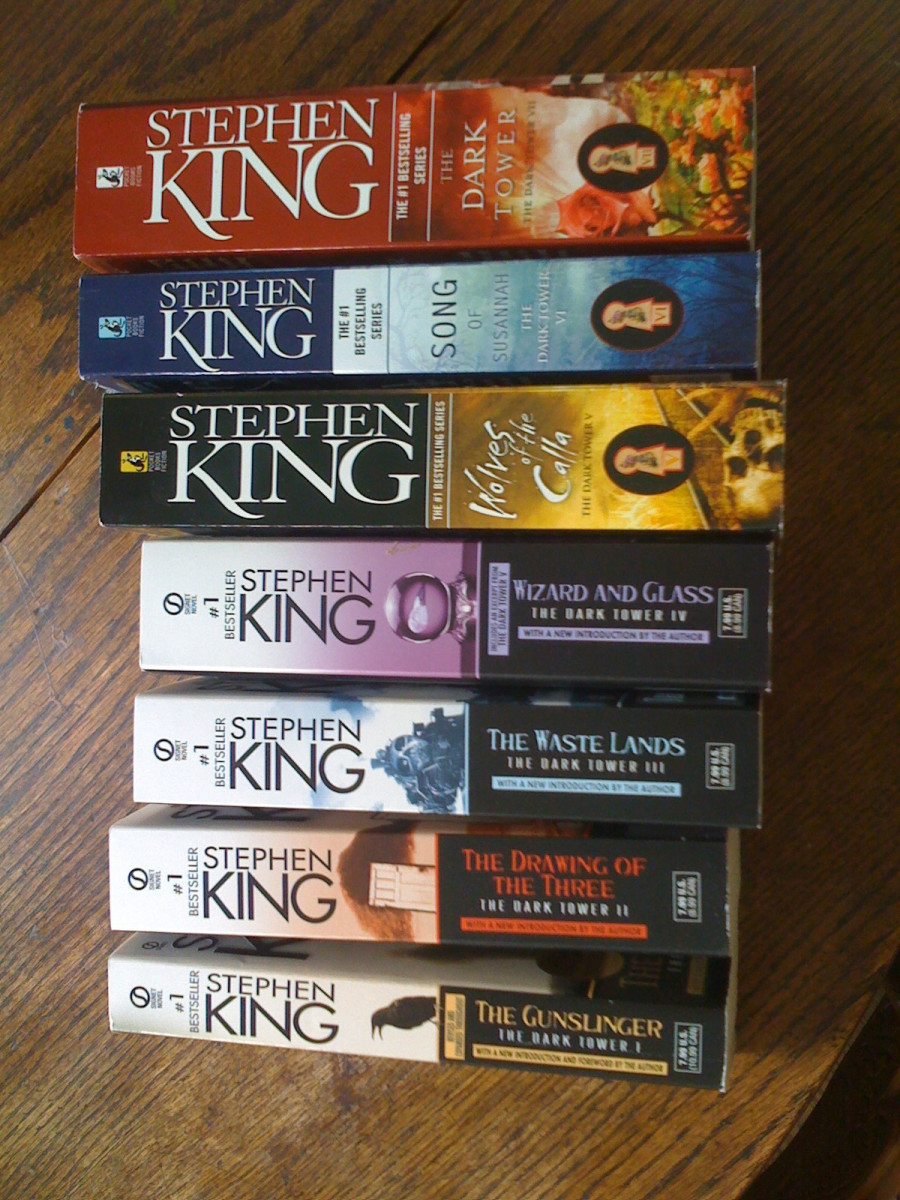 A Selection of Stephen King's Work