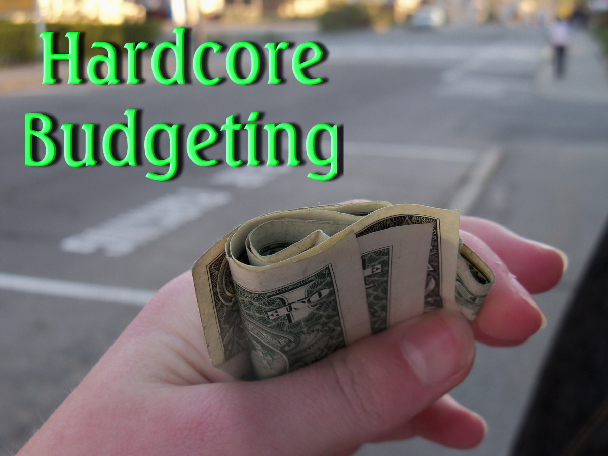 Hardcore Budgeting: 8 Ways to  Live on the Cheap