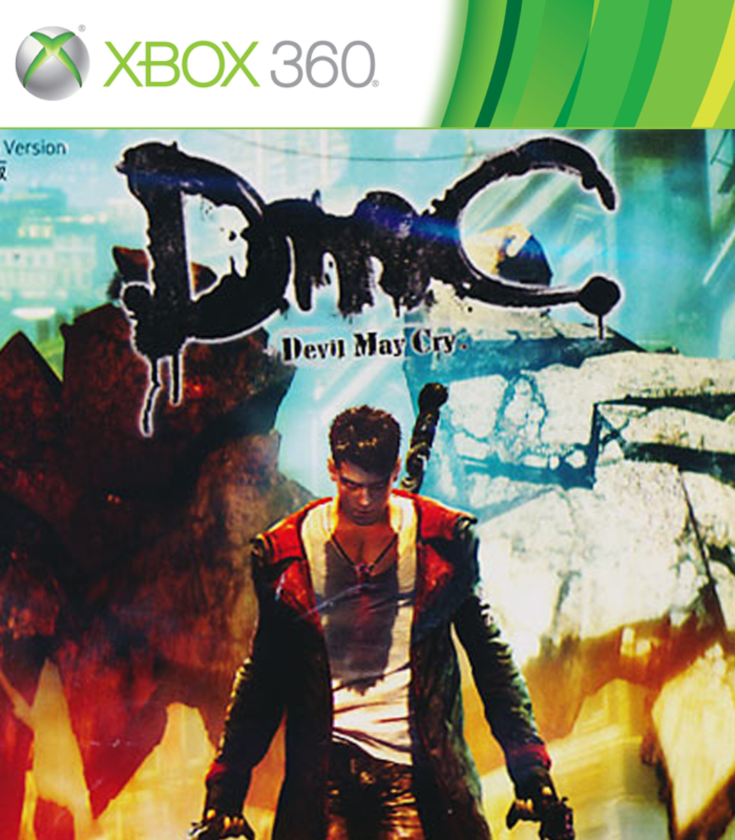 DMC: Devil May Cry XBOX 360 game cover