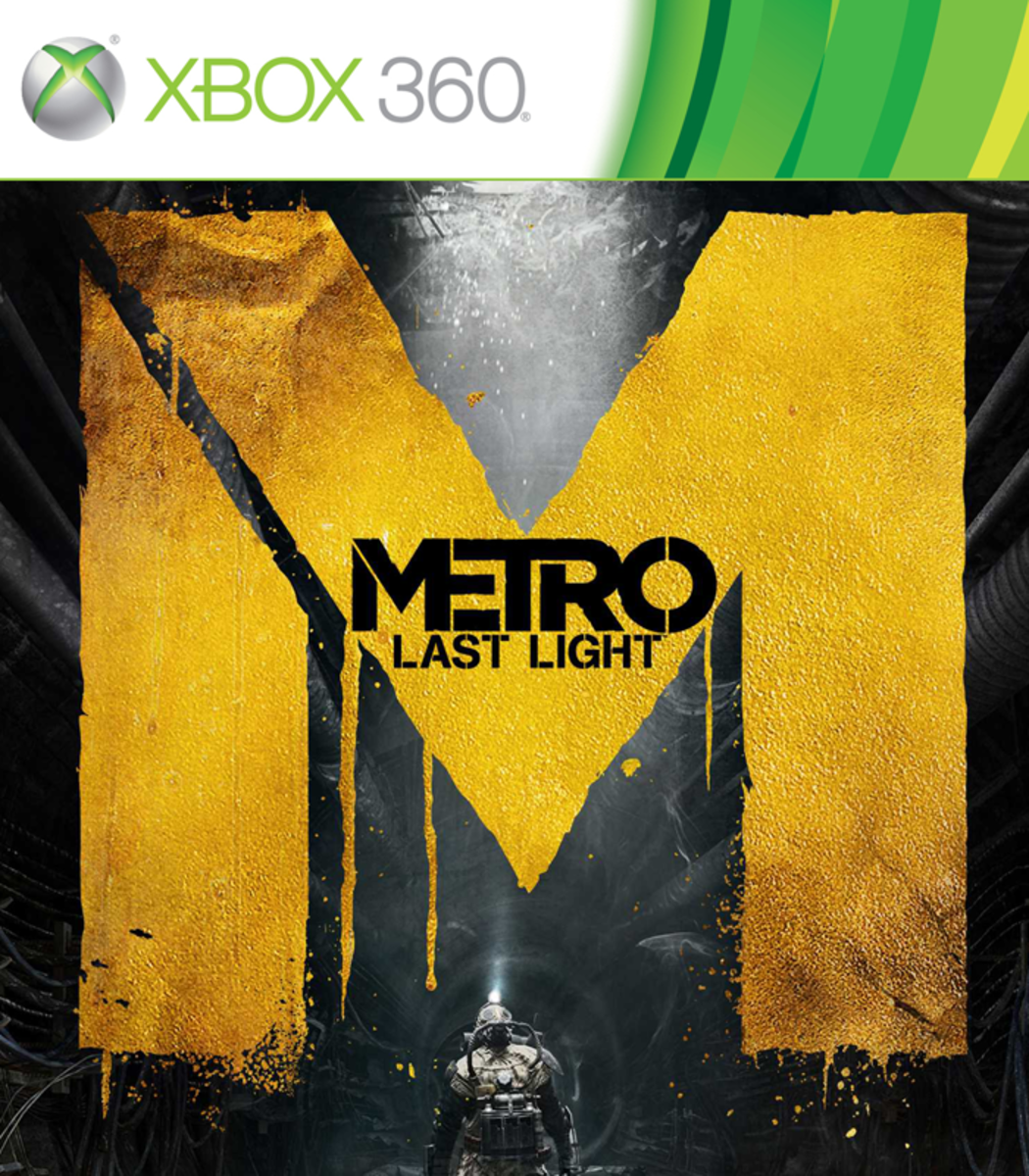 Metro Last Night XBOX 360 game cover