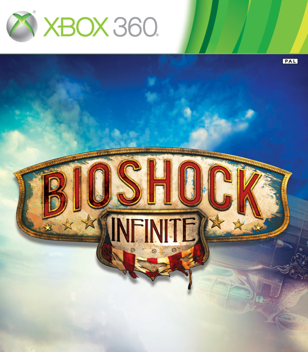 Bioshock: Infinite XBOX 360 game cover