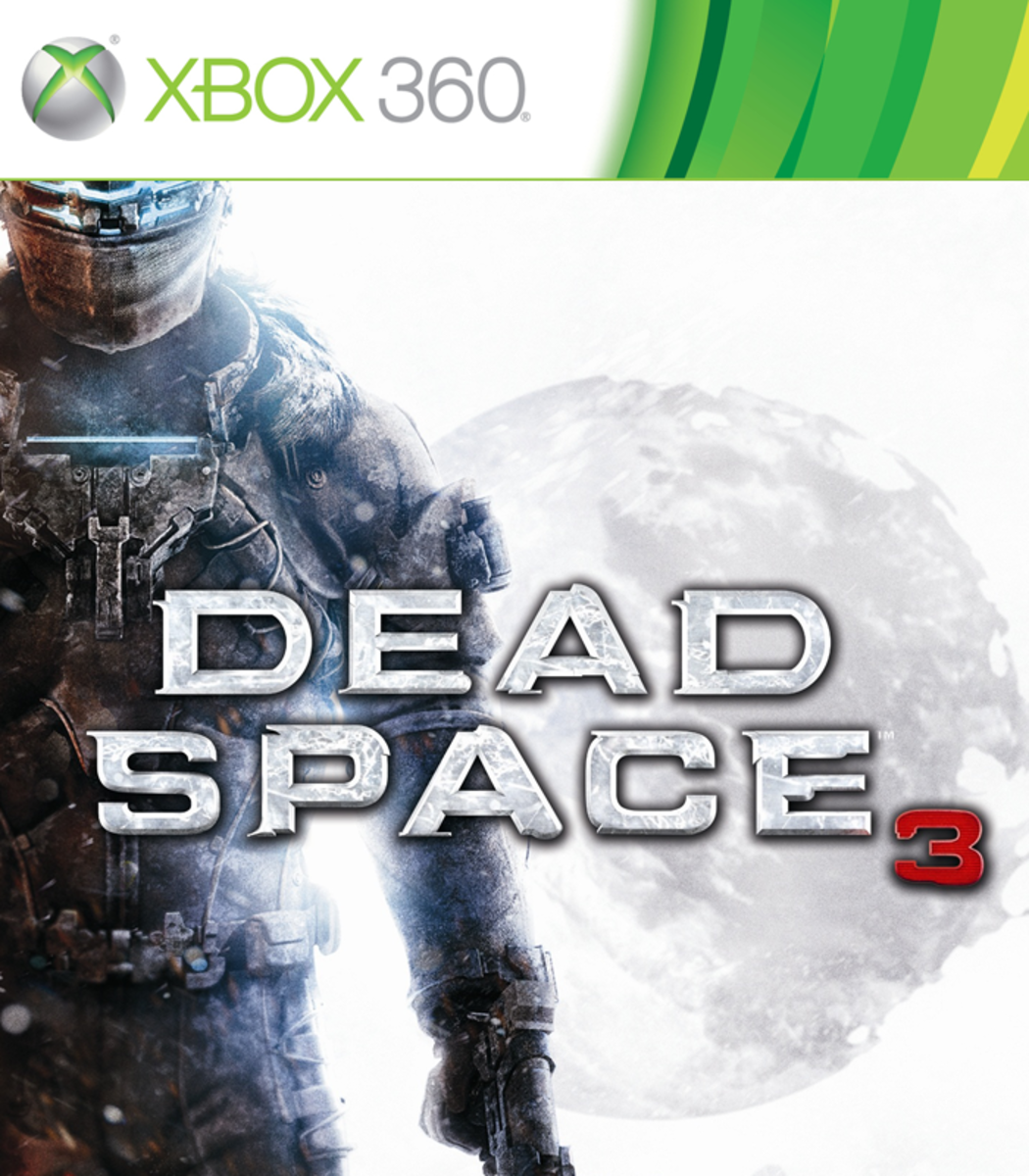 Dead Space 3 XBOX 360 game cover