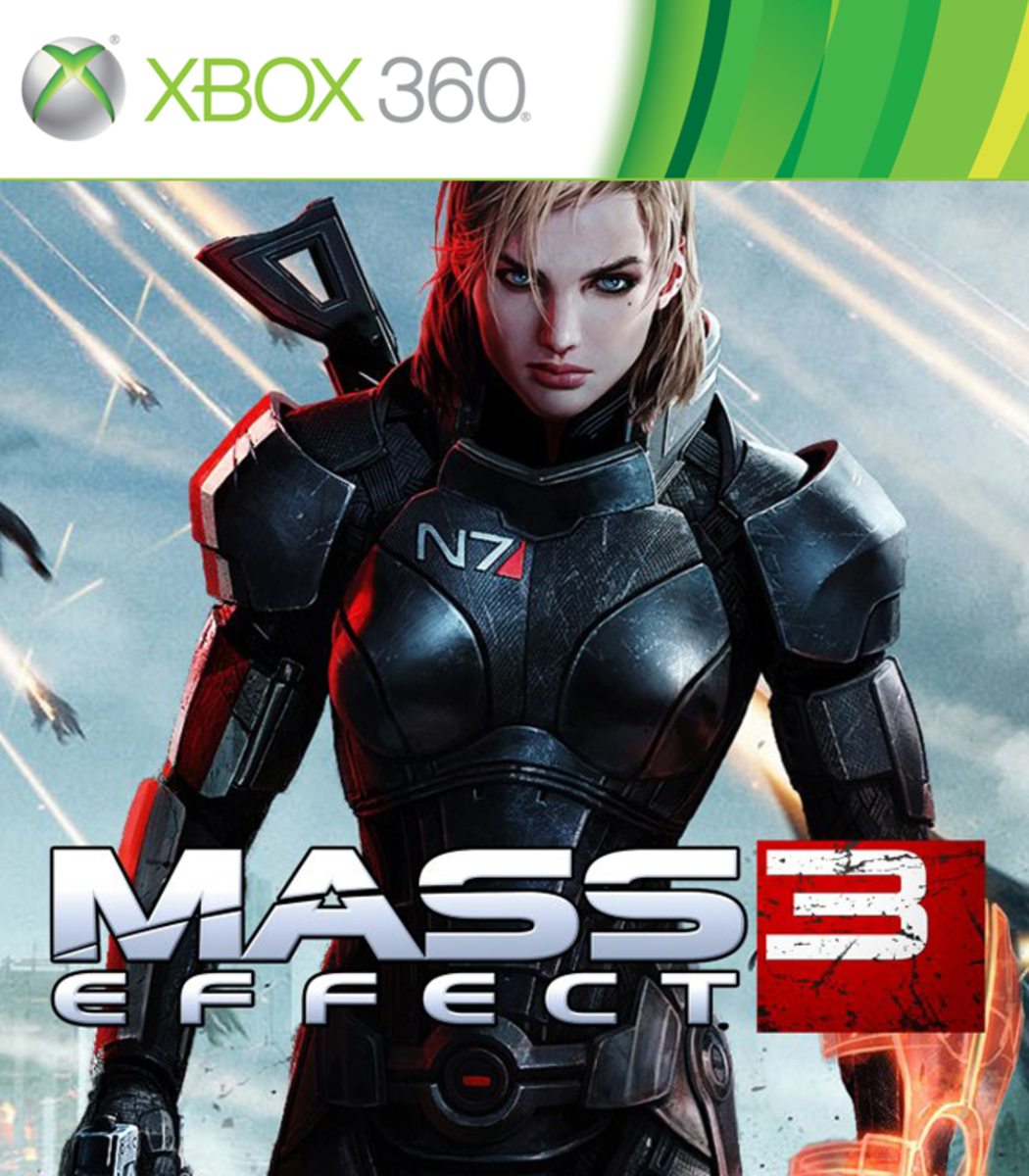Mass Effect 3: Citadel XBOX 360 game cover
