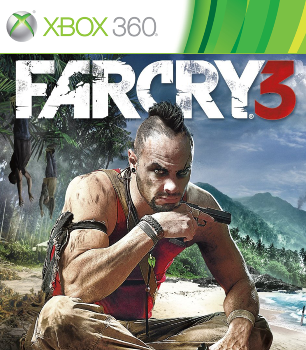 Far Cry 3 XBOX 360 game cover