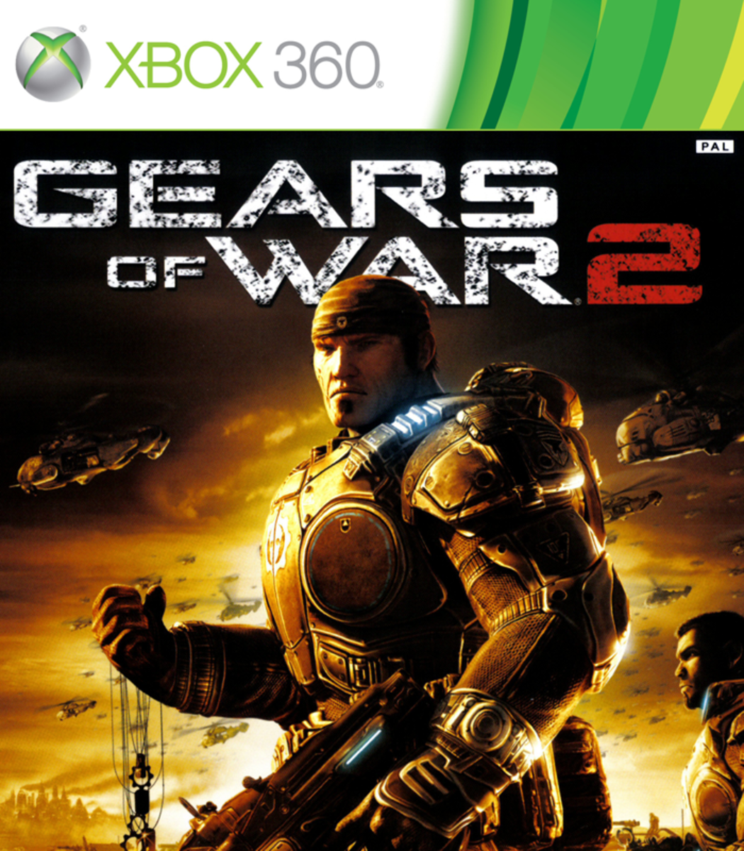 Gears of War 2 XBOX 360 game cover