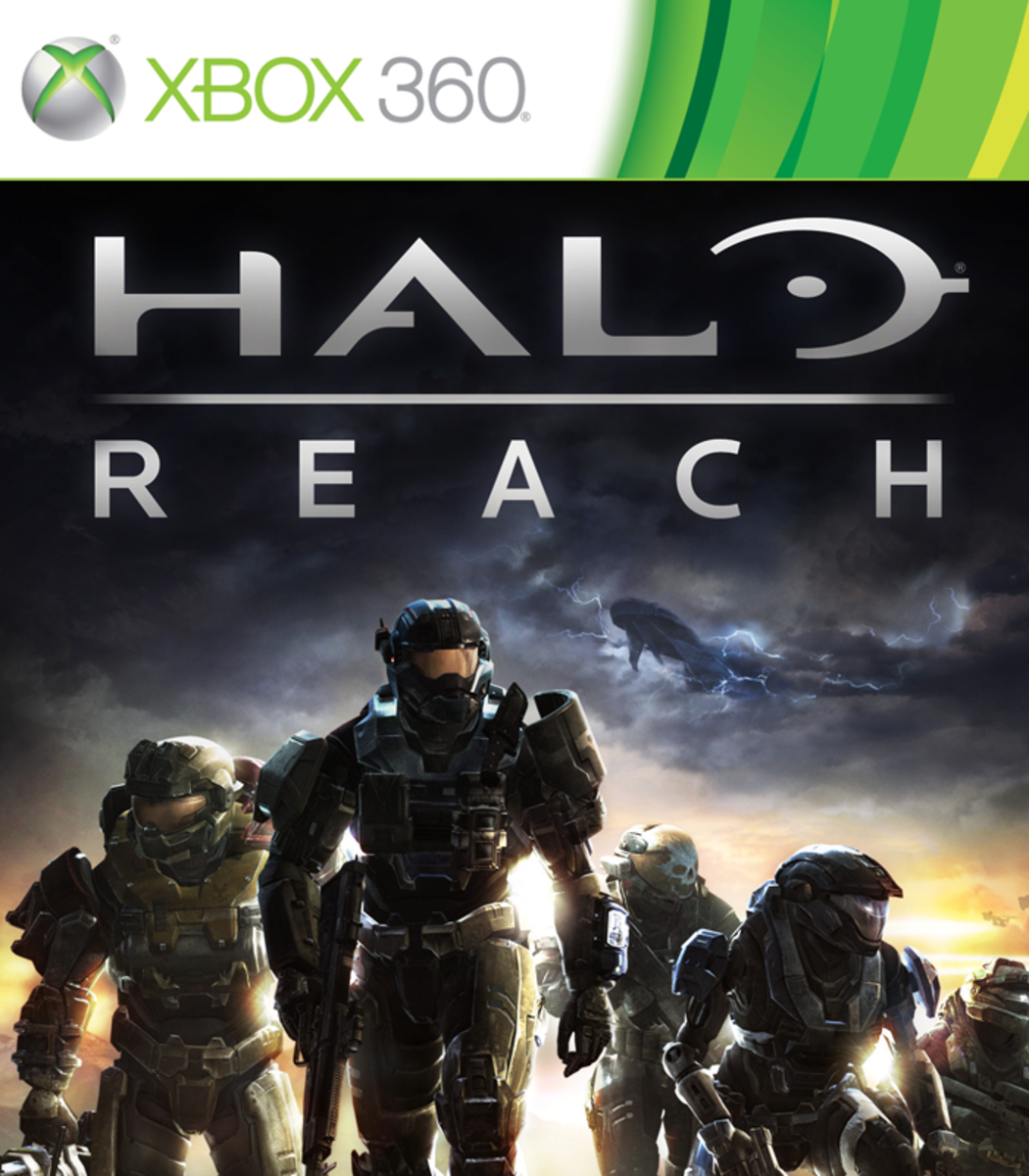 Halo: Reach XBOX 360 game cover