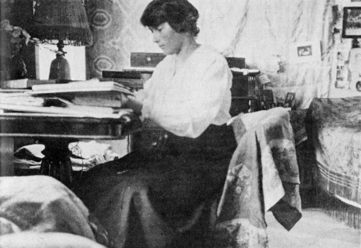 Anastasia in captivity.