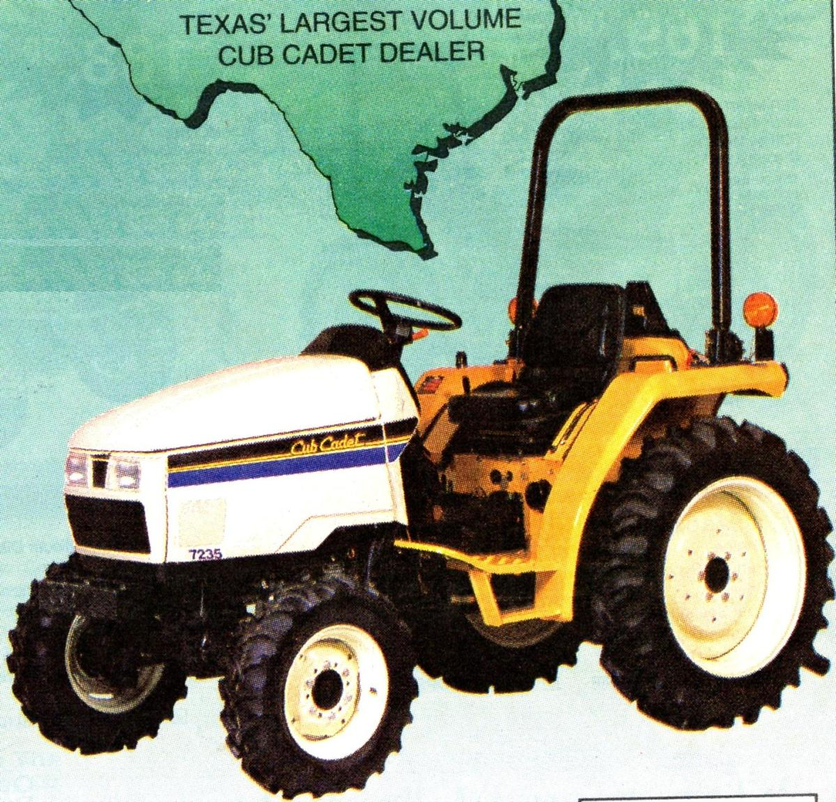 The original advertisement from the purchase of our tractor.