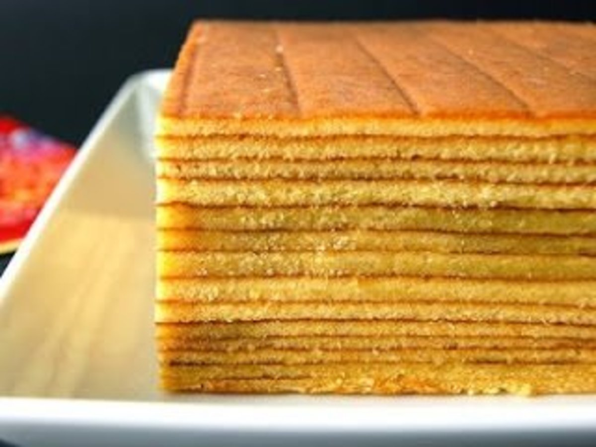 Old fashioned Indonesian-Dutch Layer Cake Secret Recipe