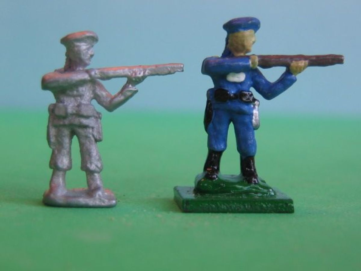 Chinese Imperial infantry