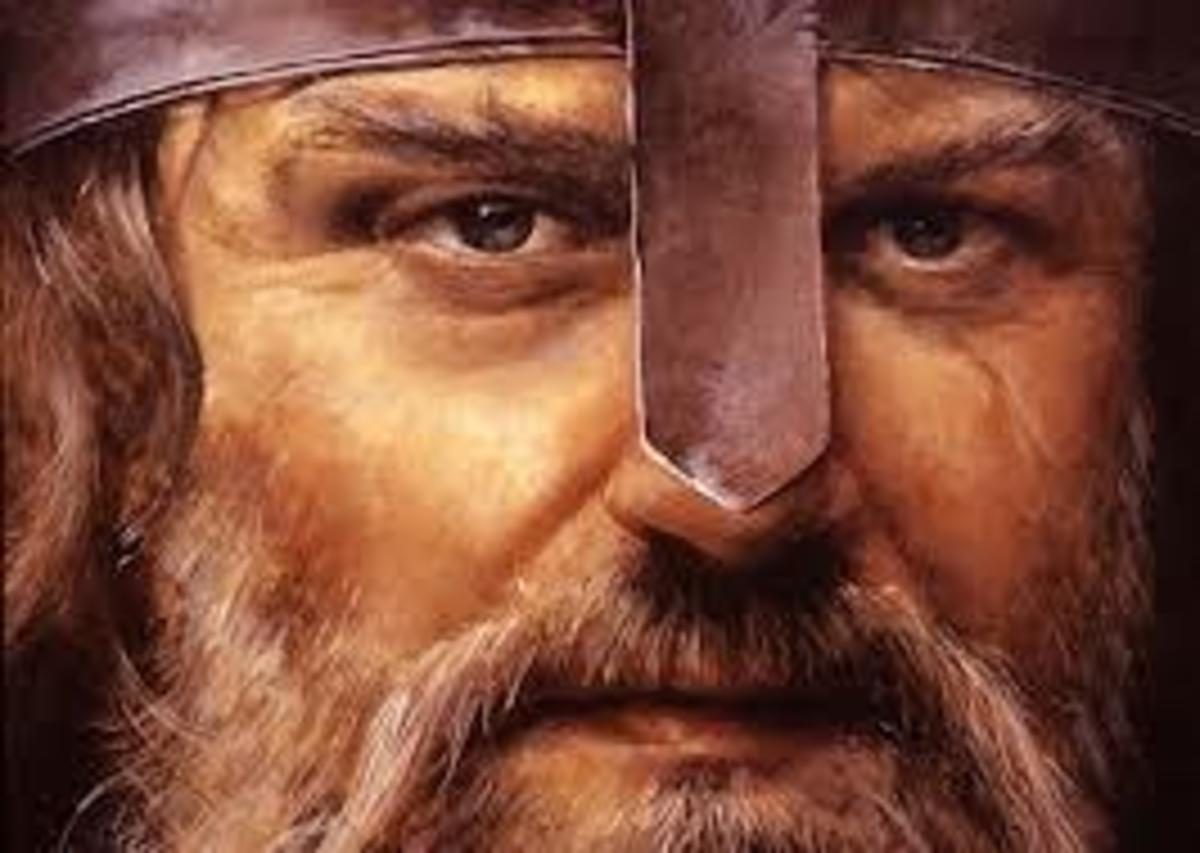 Viking with noseguard