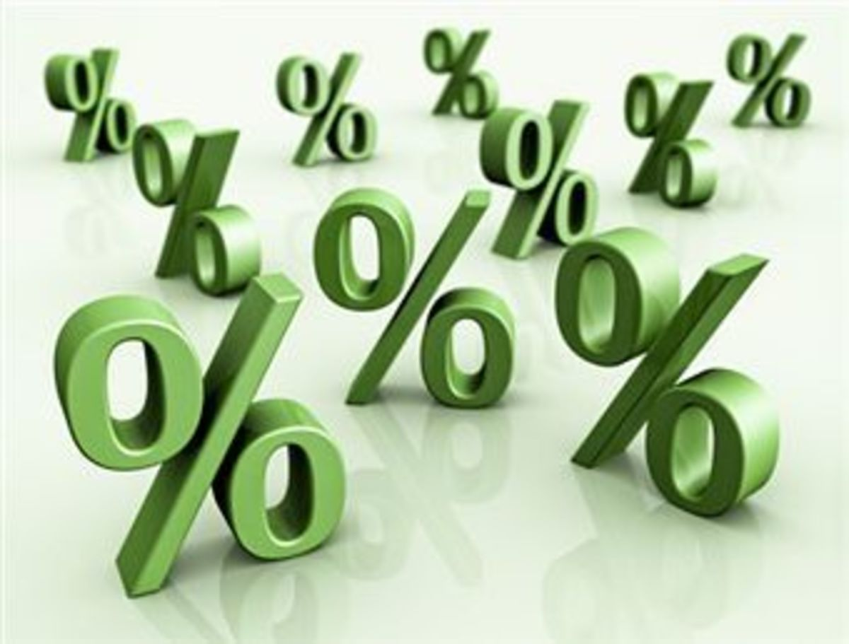 Maths help: What is a percentage? How do you work out a percent of a number? Percent = out of a 100