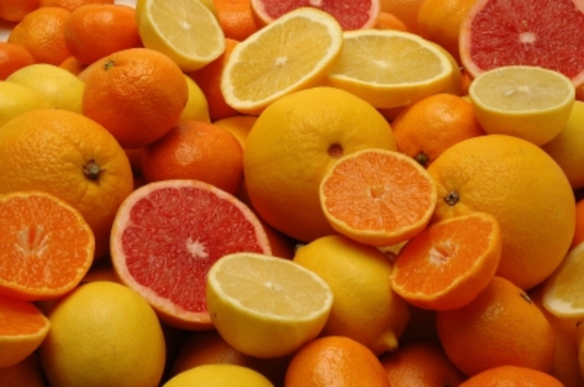 citrus fruits have excellent benefits to the skin when used in beauty products