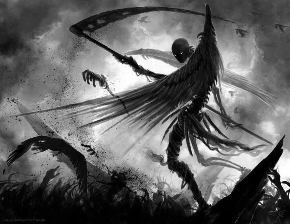 Do you think the Angel of Death comes for people when they die? What do you believe? Post your thoughts in the comment section below.