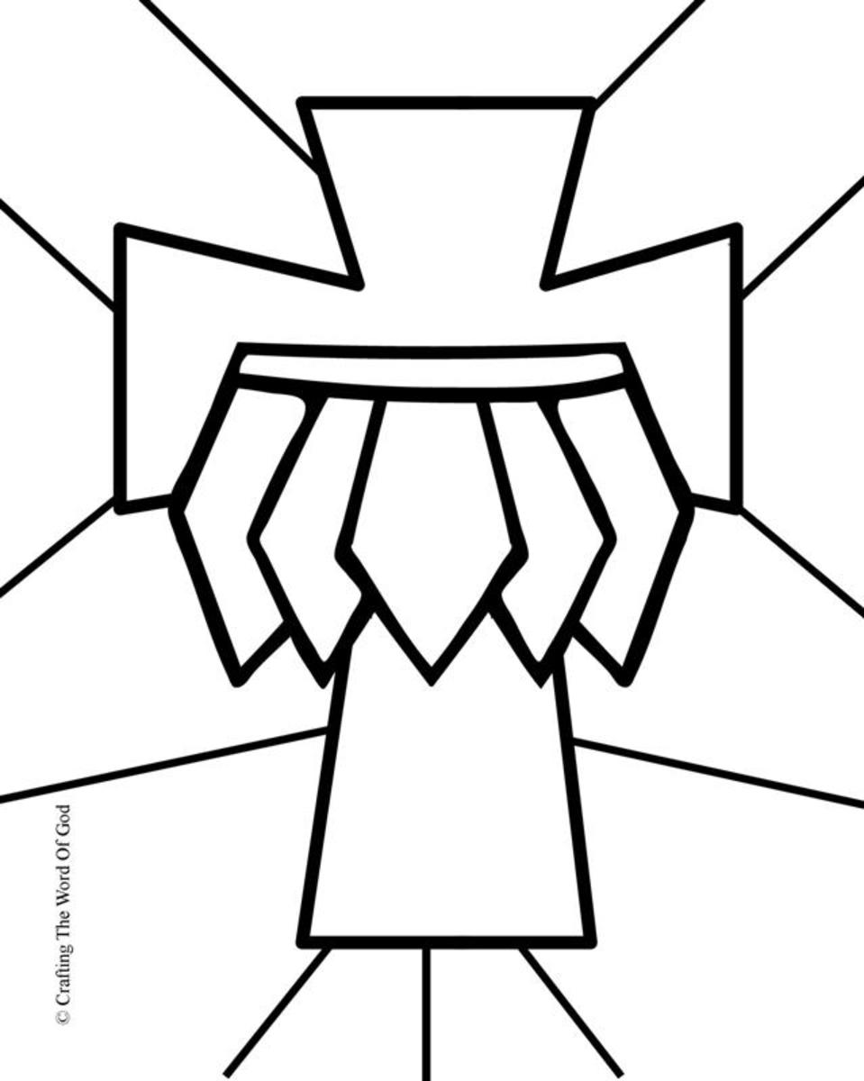 Belt Of Truth- Coloring Page