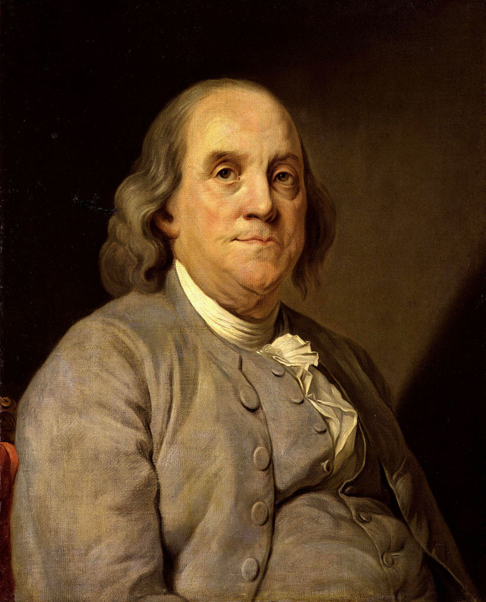 Benjamin Franklin by Joseph-Siffrein Duplessis (1725–1802)