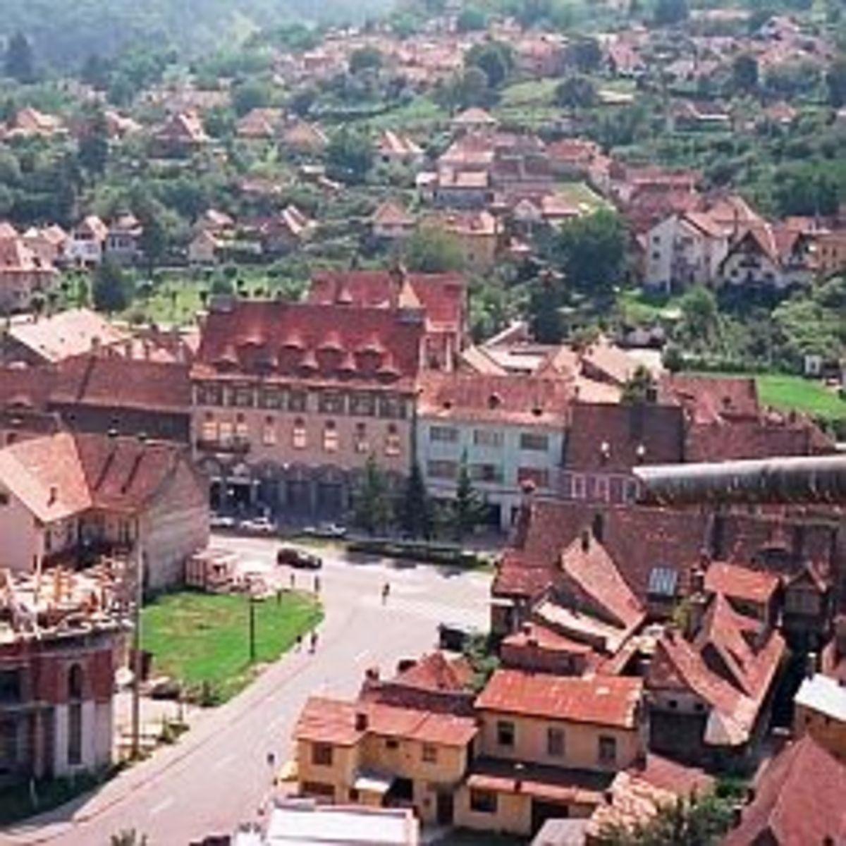 Sighisoara - the City where Vlad Tepes Was Born