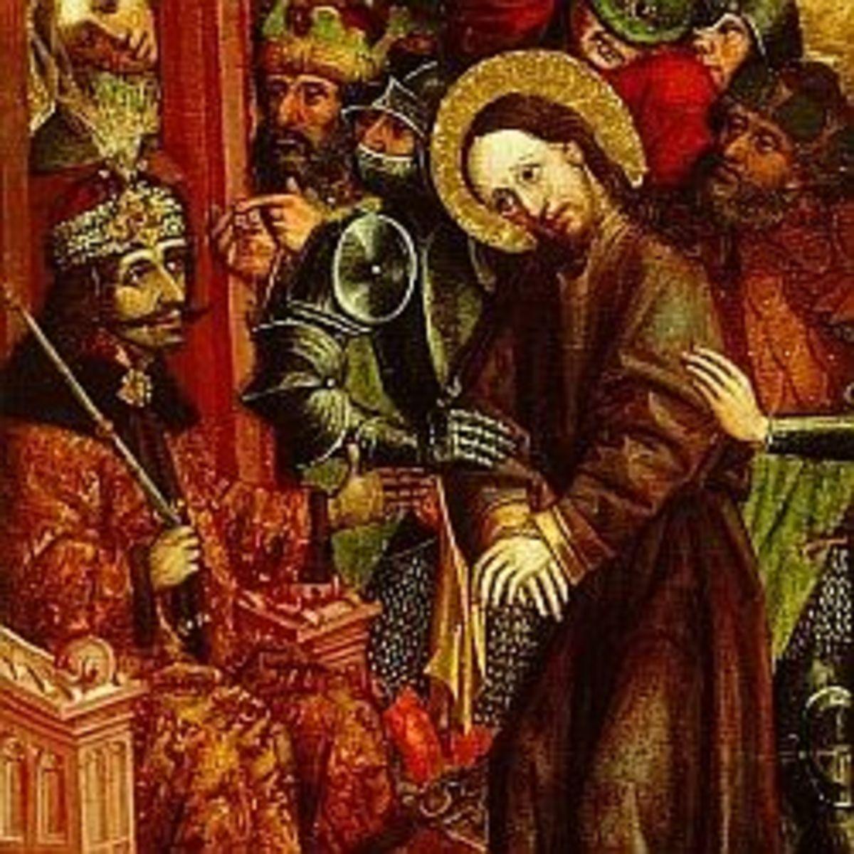 Vlad Depicted as Pilatus - Condemning Jesus