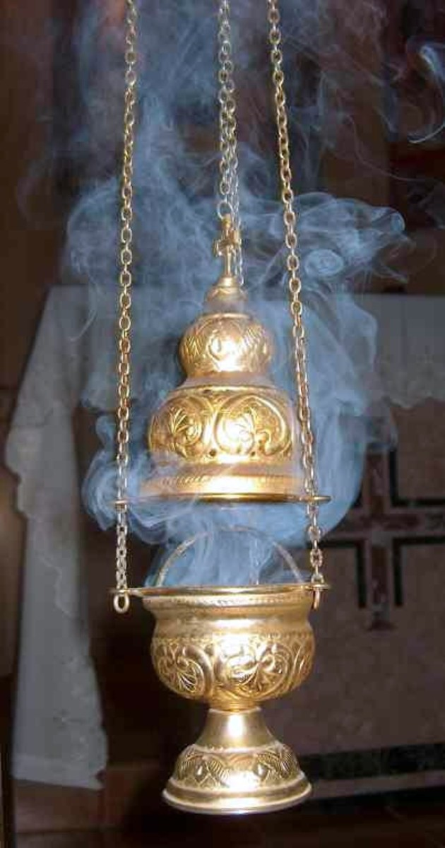 Censer used by an Oriental Orthodox church