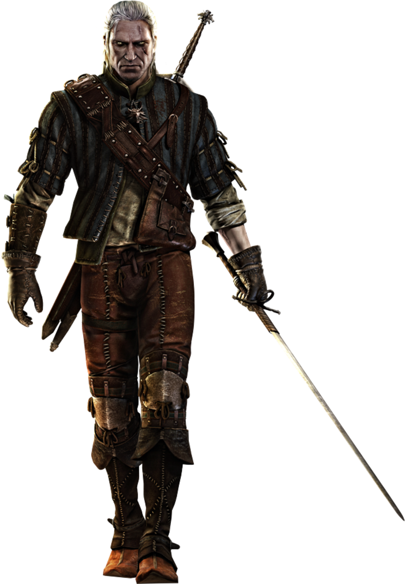 Geralt of Rivia as seen in The Witcher 2: Assassin of Kings