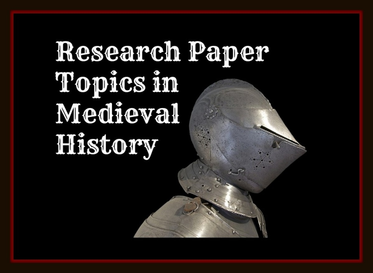 Research Paper Topics in Medieval History