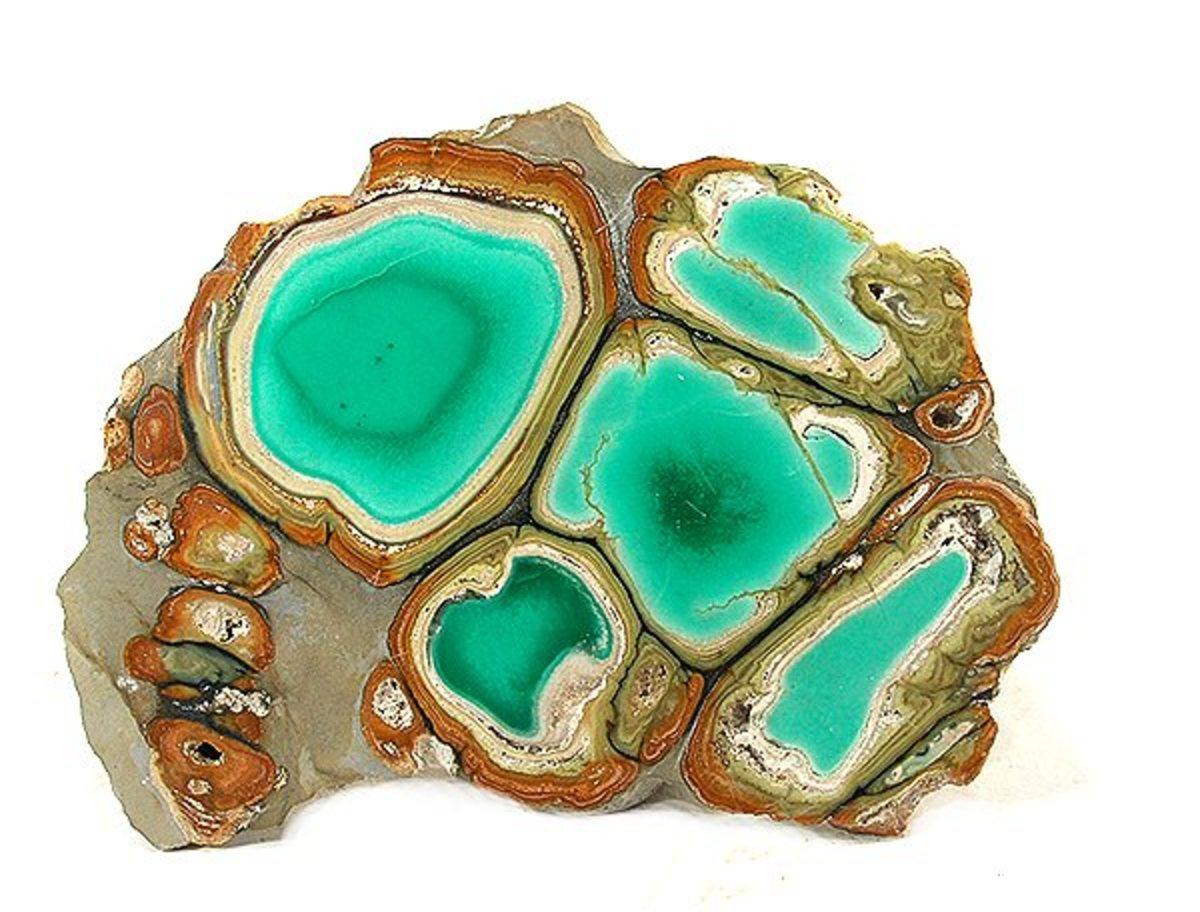 Clay Canyon (Fairfield) Variscite