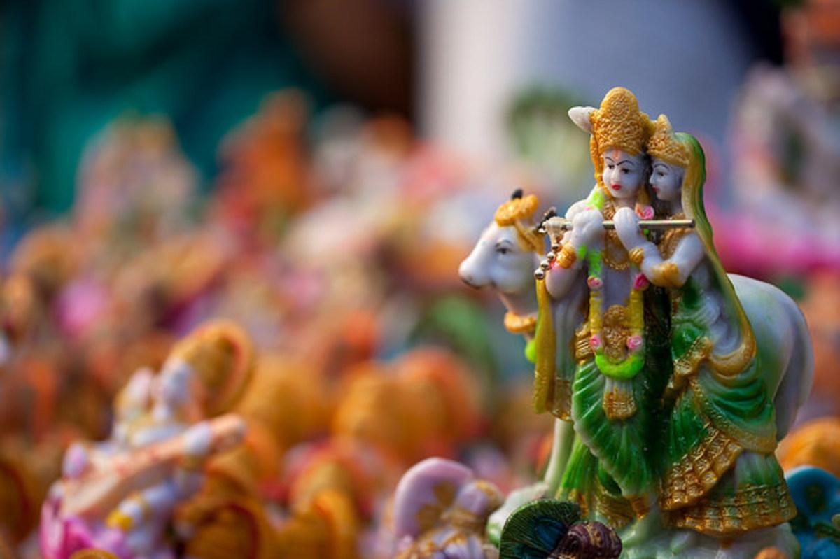 Radha Krishna Reunion Series: Part I(i) (From Sri Garga Samhita)