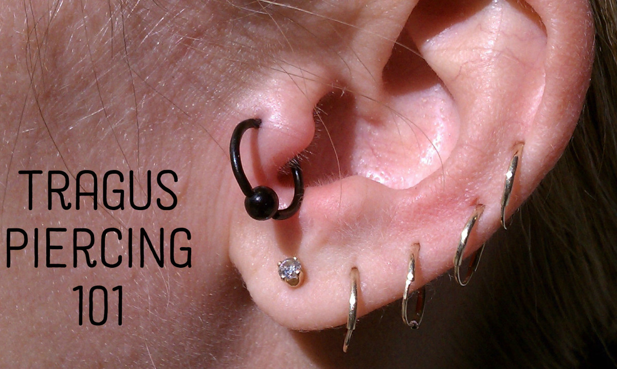 Tragus Ear Piercing Everything You Need To Know Hubpages