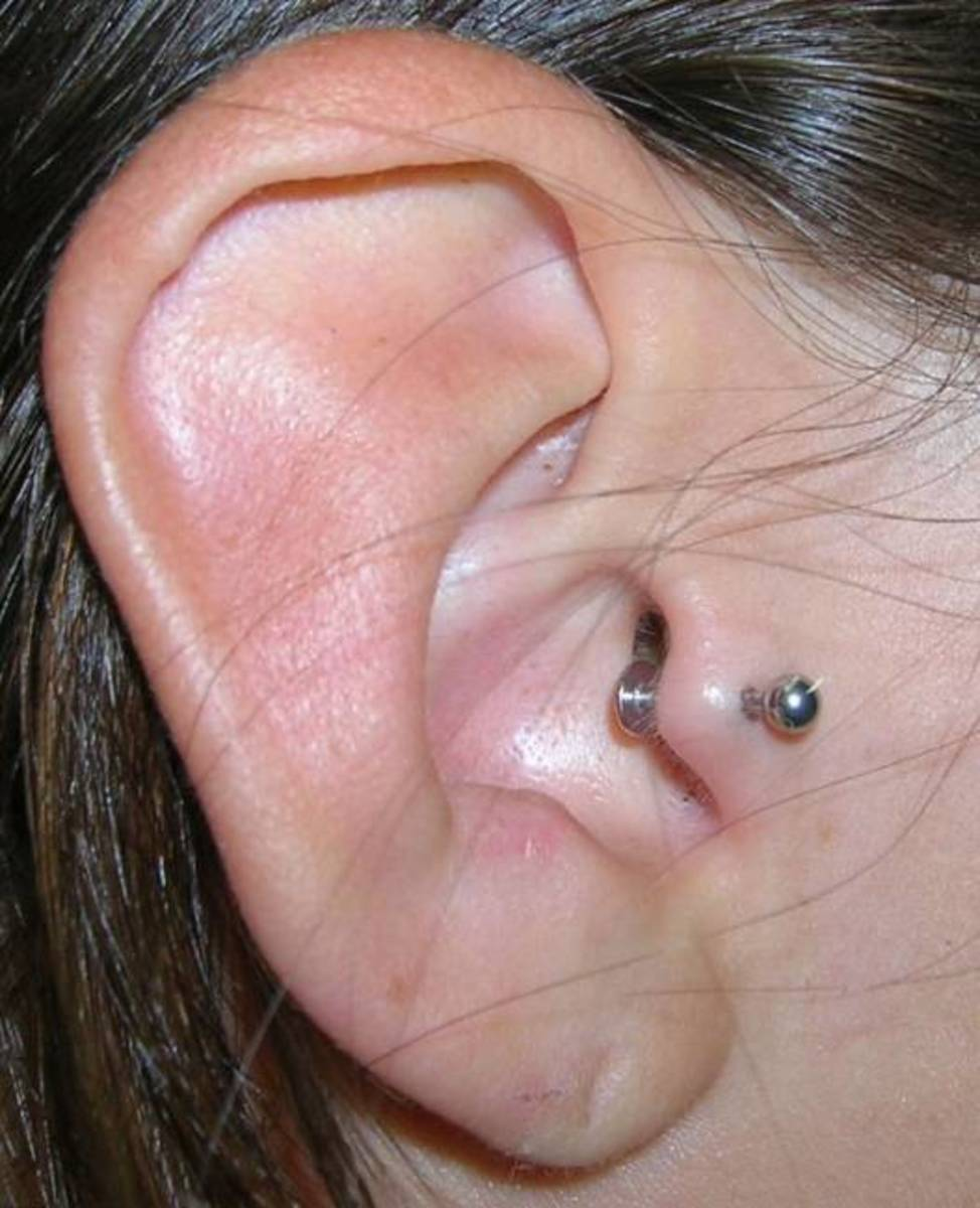 Pin It  Ear Cartilage Piercing Tragus