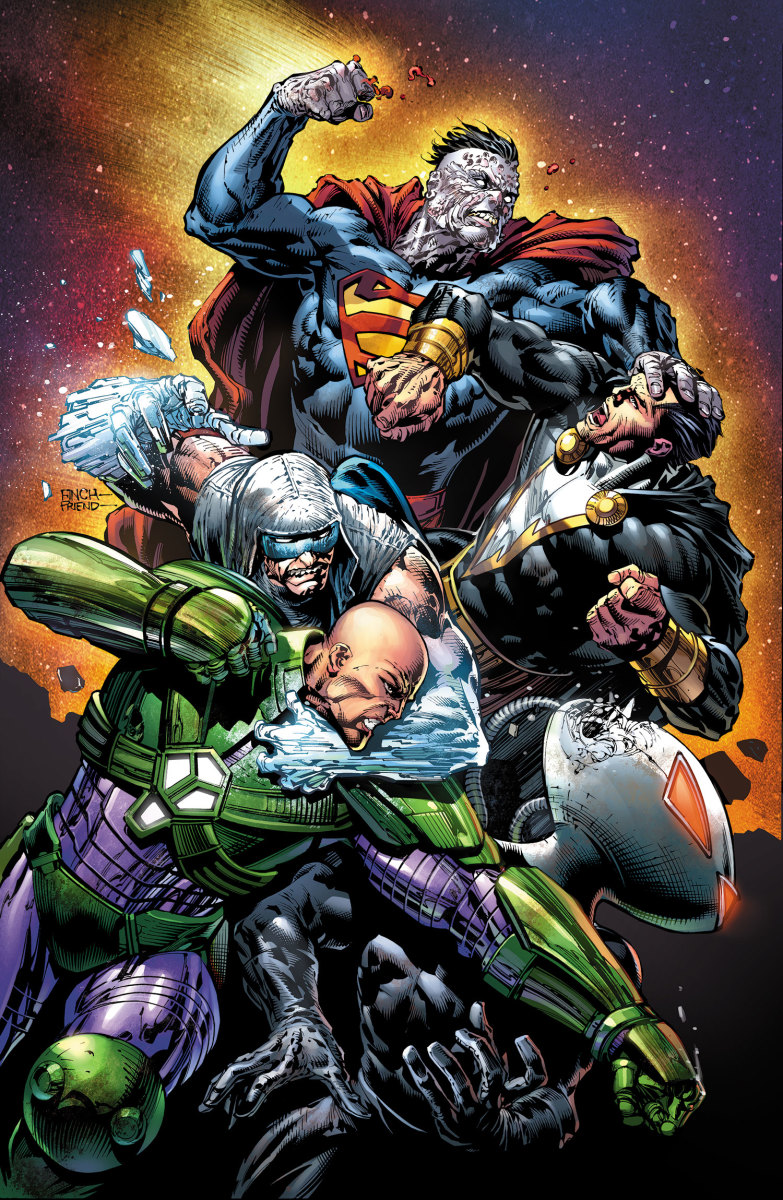 Cover art from Forever Evil #3 (2013)
