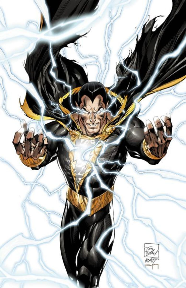 The JLA Villain Black Adam will be part of DC's Villain's Month in September 2013.