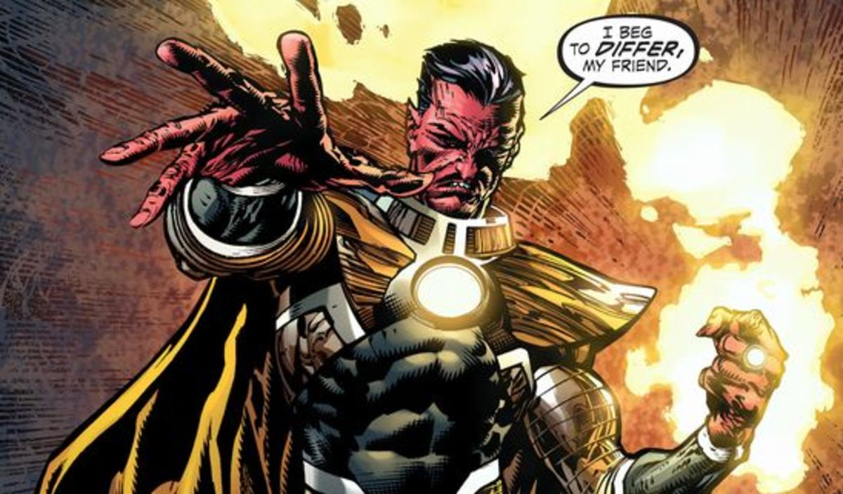 Exerpt from Forever Evil #4 (2014)