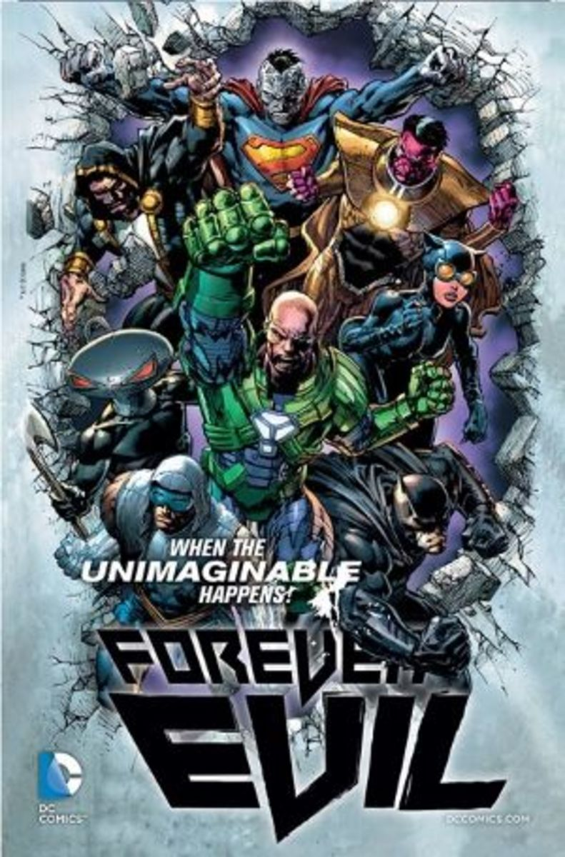 An Official Teaser Poster for the Forever Evil event.