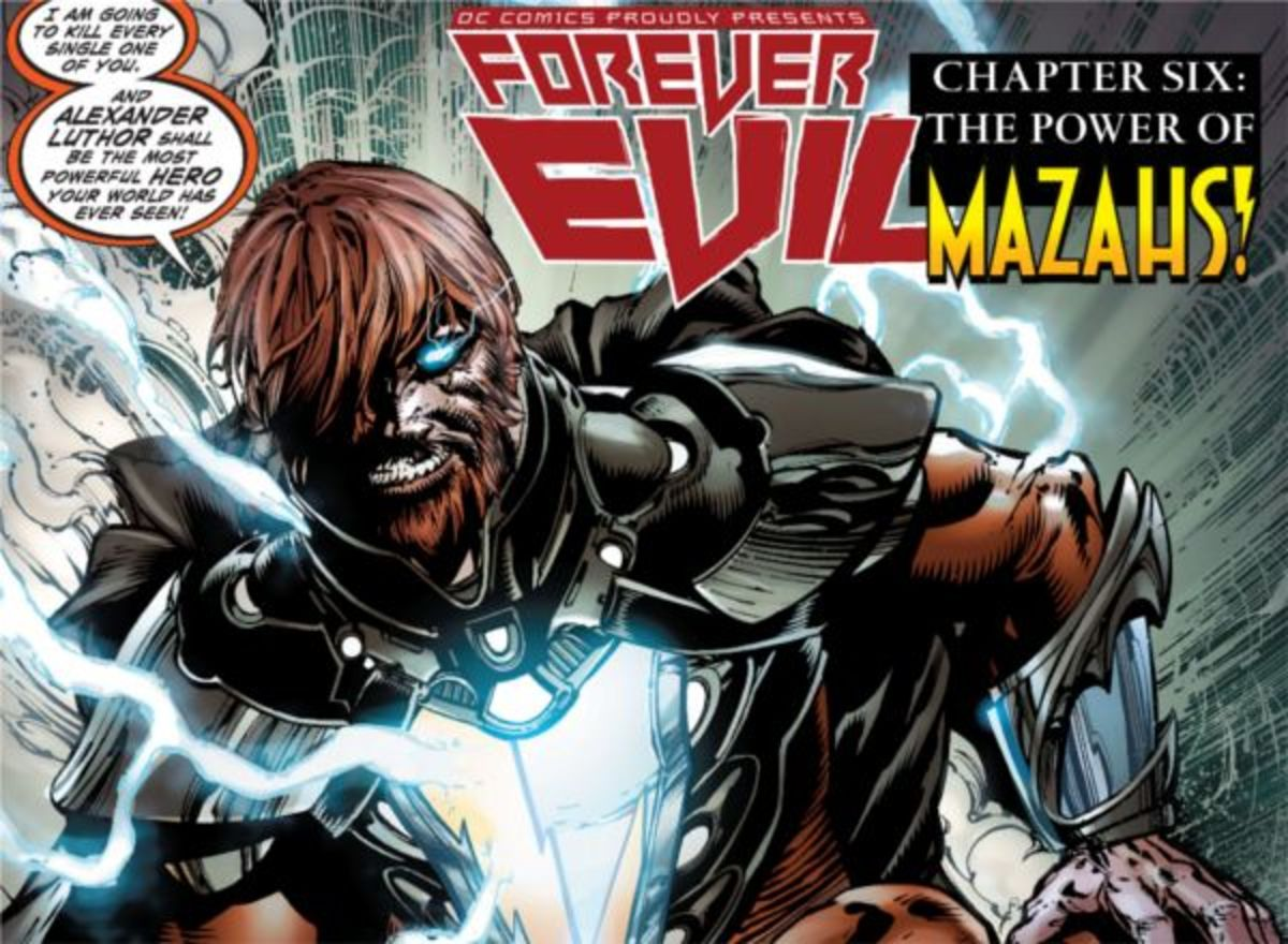 Alexander Luthor from Forever Evil #6 (2014)
