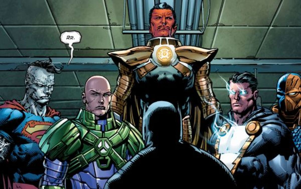 Excerpt from Forever Evil #5 (2014)