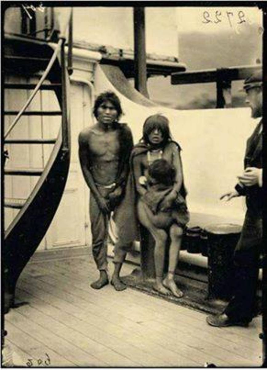 Tacuabé, Guyunusa and daughter.